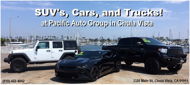 Pacific Auto Group image: 619-422-4042