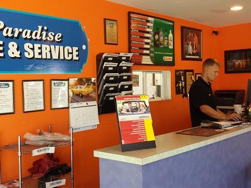 Tire & Service center photo