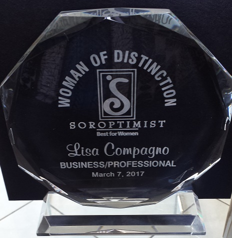 Soroptimist Women of Distinction Award