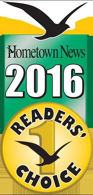 Readers Choice Award, Best Automobile Dealer 2016 badge