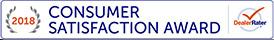 Consumer Satisfaction Award 2018 - Hollywood Motor Company