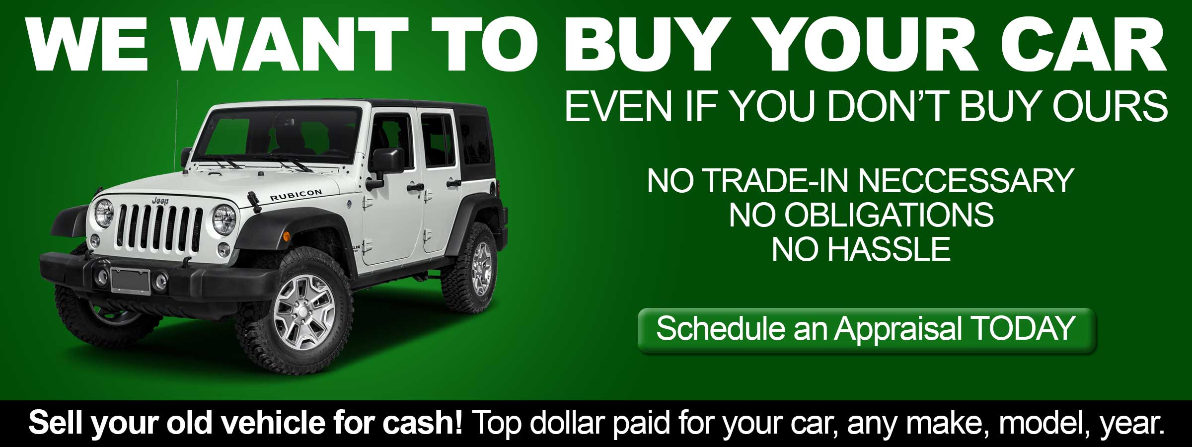 Used Car Dealer in Burleson, TX, Sell your Old Vehicle, any make, model, year and get Top paid Dollar for your car.