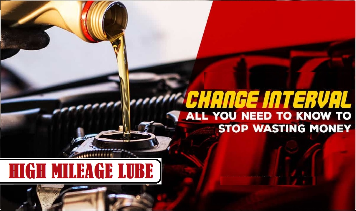 HIGH MILEAGE LUBE, OIL & FILTER