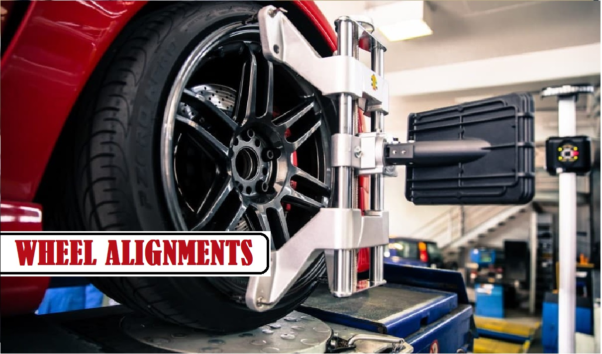 2 WHEEL ALIGNMENTS