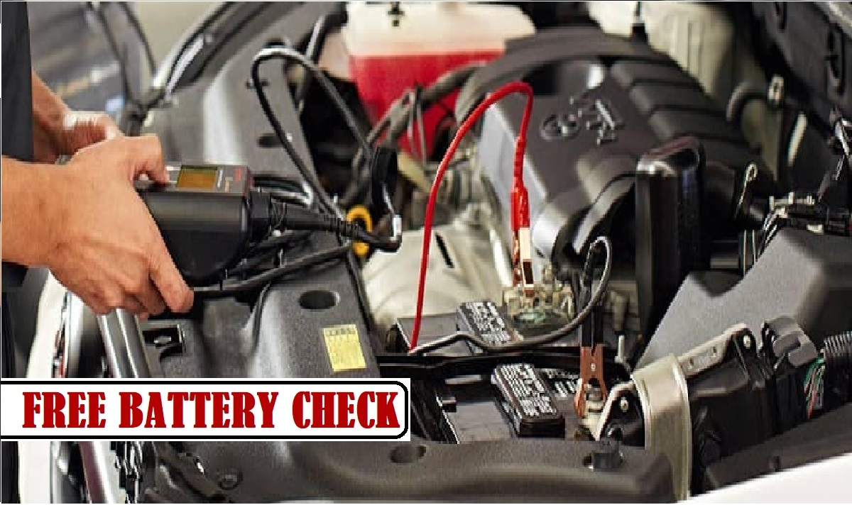 FREE BATTERY HEALTH CHECK