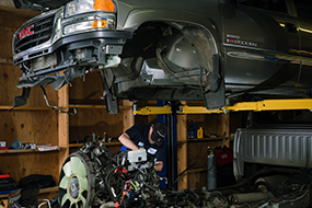 Vehicle Maintenance, Diesel Services