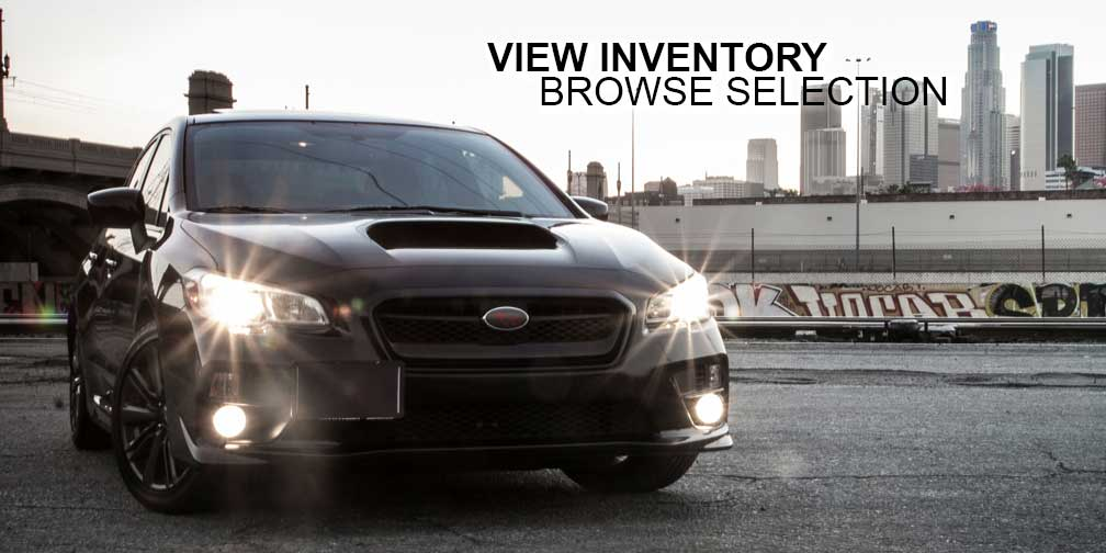 View inventory browse selection