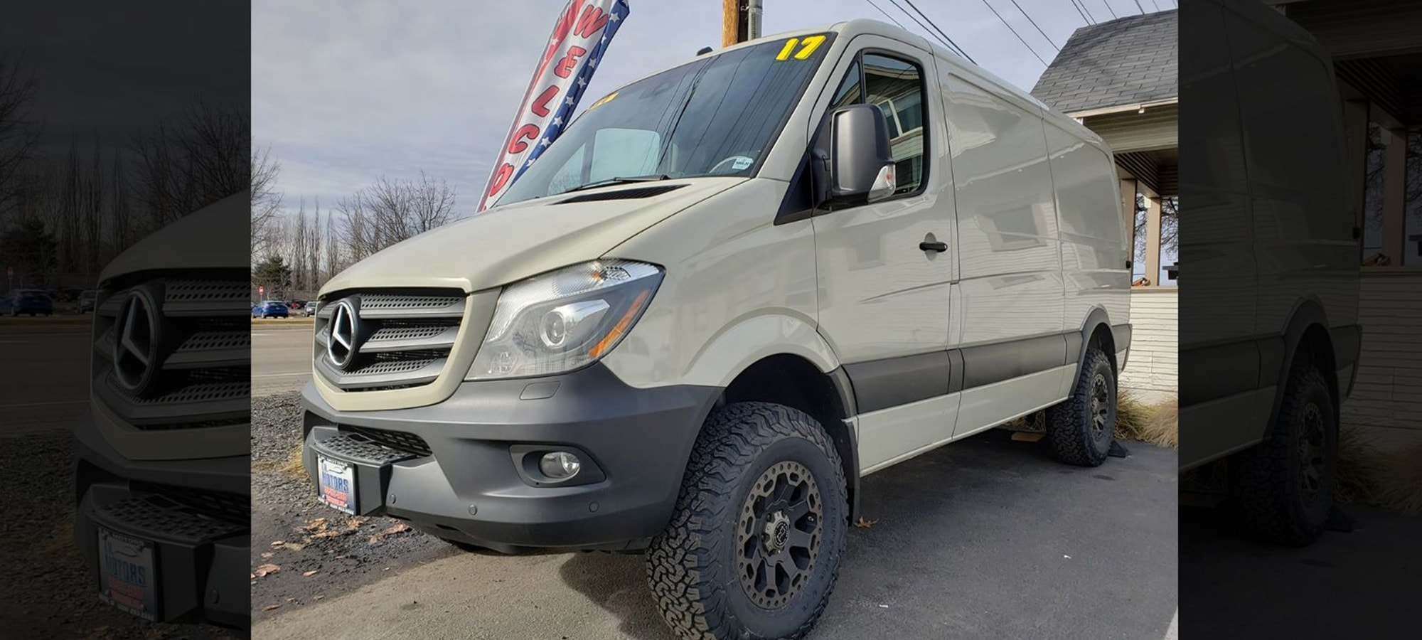 Used mercedes sprinter 4x4 for sale