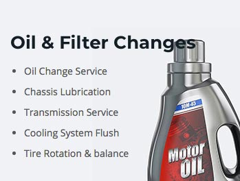 Oil and Filter Changes