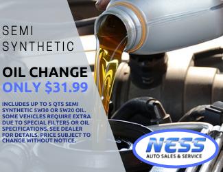 Semi Synthetic Oil Change