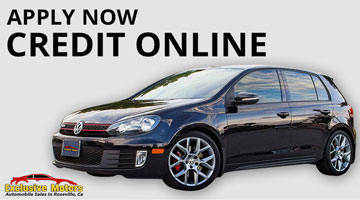 Online Credit Applications for Financing the Purchase of a Used Car from the Exclusive Motors Auto Dealership in Roseville, CA 95678.