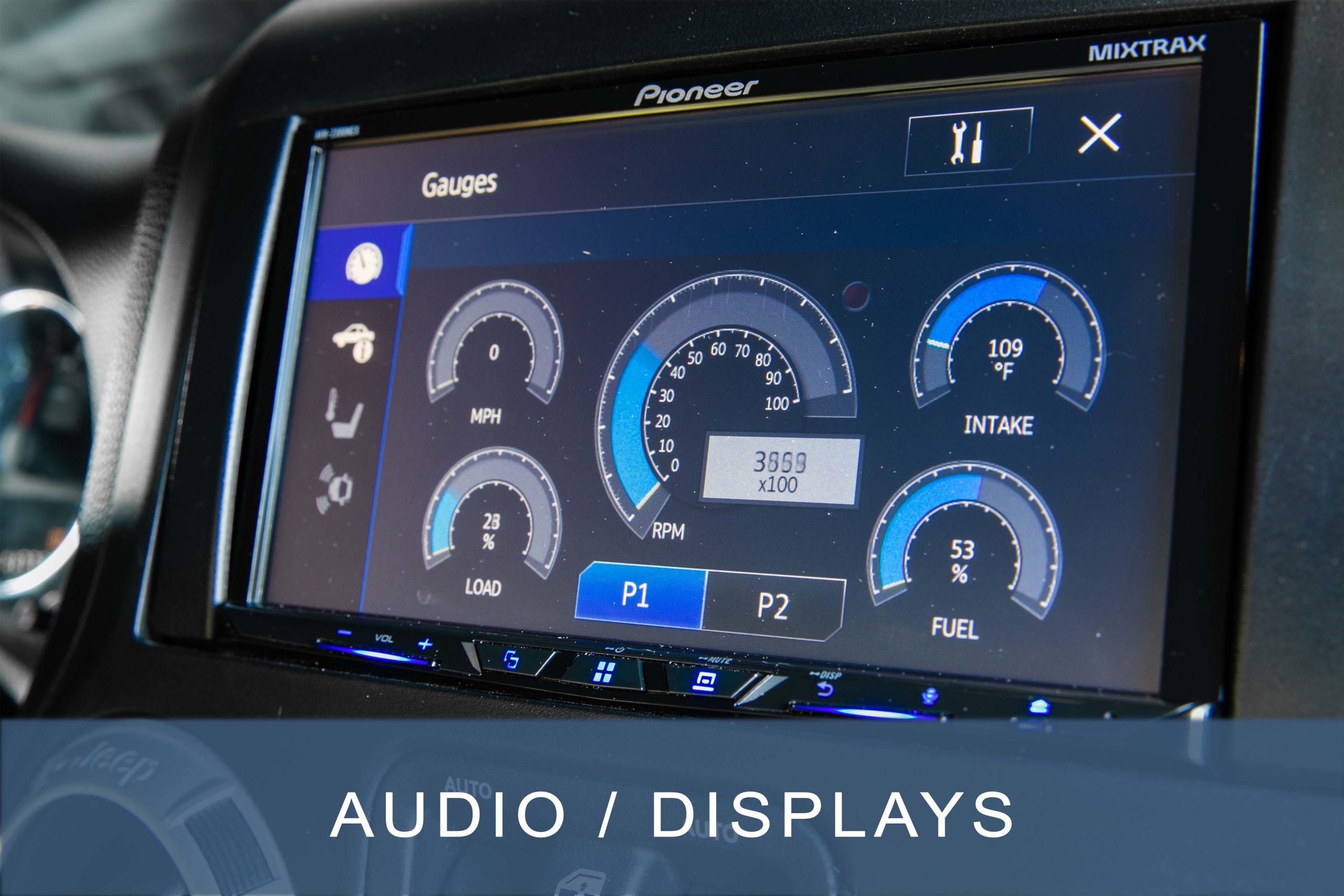 Audio - Displays
