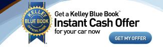 Kelly Blue Book Instant Cash Offer Banner