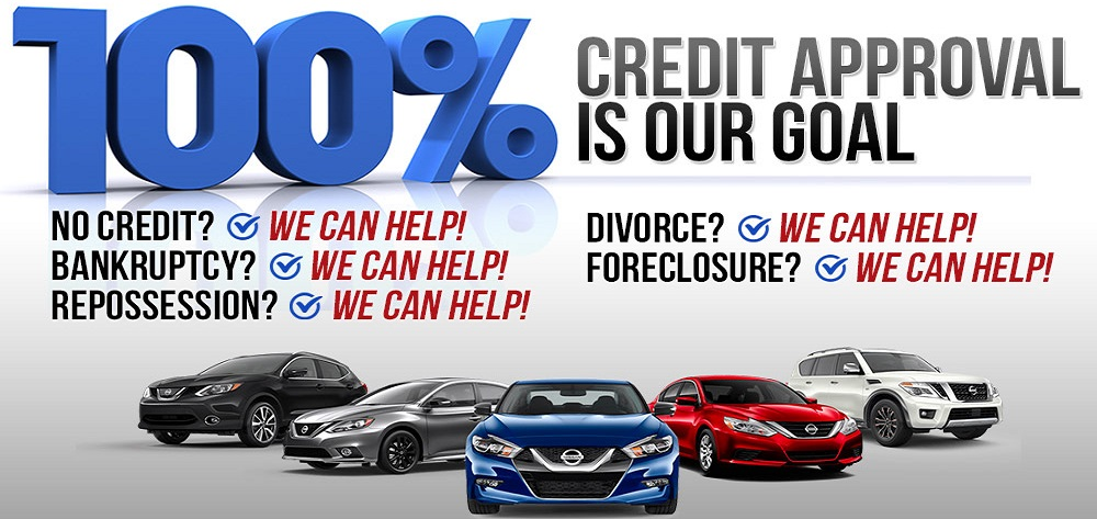 100% Credit Approval Is Our Goal - Auto Center Sales & Service