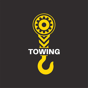towing hook icon