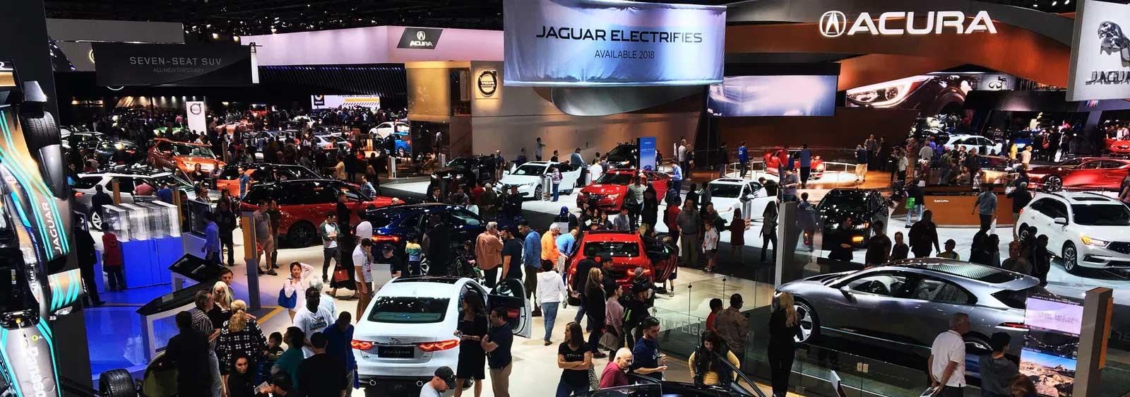 LA Auto Show Banner