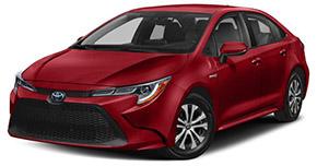 The All New 2020 Toyota Corolla Hybrid Evans Auto Brokerage Thousand Oaks, CA