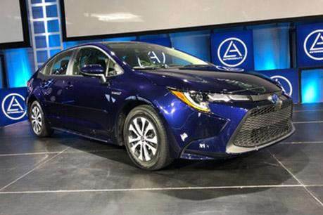Evans Auto Blog 2019 Los Angeles Auto Show 2020 Toyota Corolla Winner