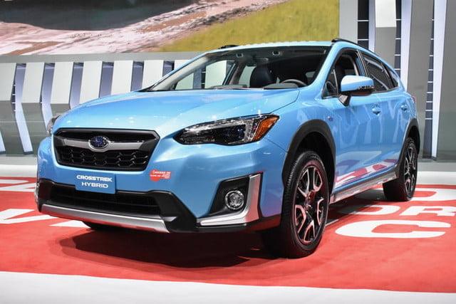 Evans Auto Blog 2019 Los Angeles Auto Show 2020 Subaru Crosstrek Hybrid