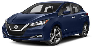 2019 Nissan Leaf January Evans Auto Brokerage Lease Special