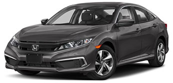 2020 Honda Civic LX January Evans Auto Brokerage Lease Special