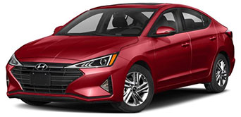 2020 Hyundai Elantra January Evans Auto Brokerage Lease Special