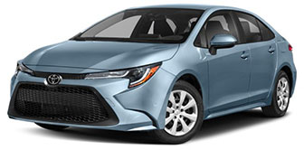 2020 Toyota Corolla LE January Evans Auto Brokerage Lease Special