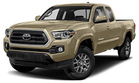 2020 Toyota Tacoma SR5 January Evans Auto Brokerage Lease Special