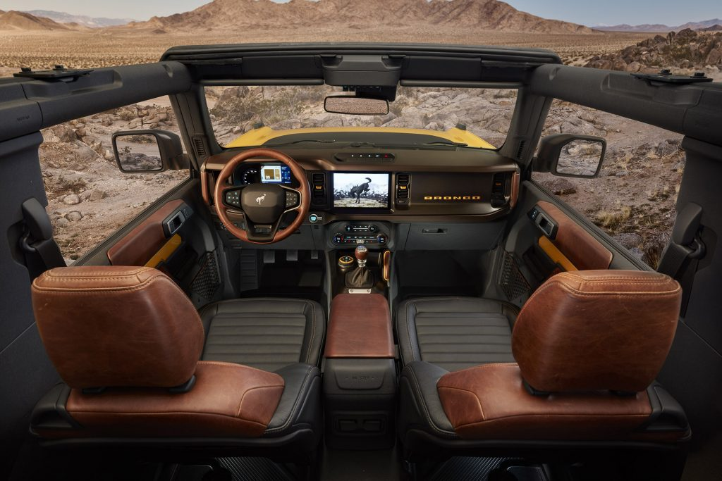 Interior Evans Auto Blog