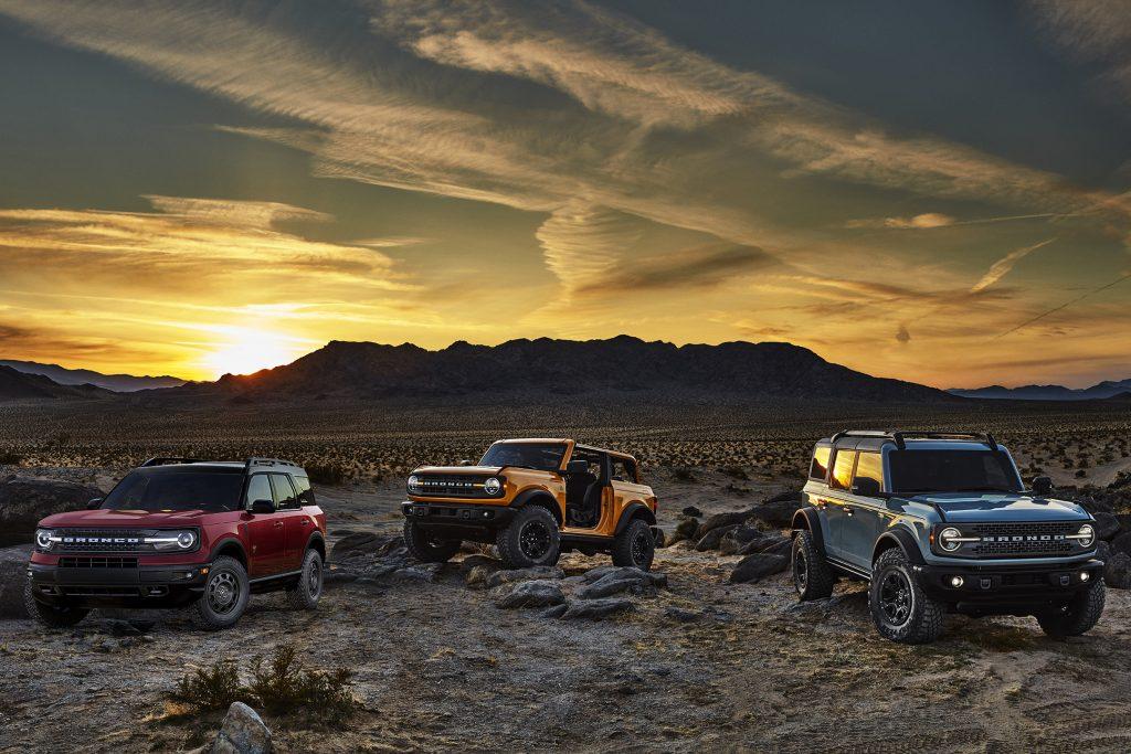 Ford Bronco Family Evans Auto Blog