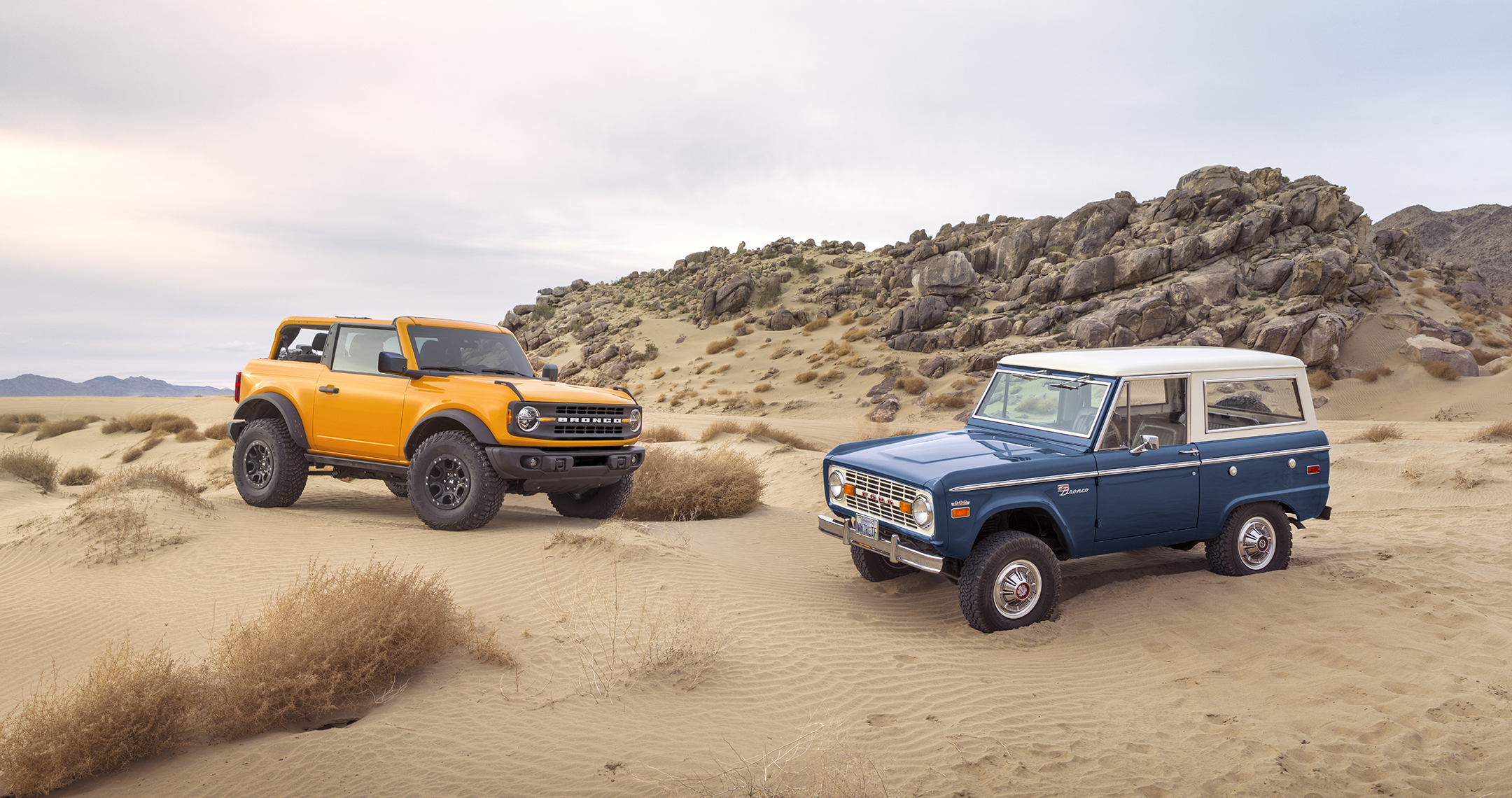 Ford Broncos over the years