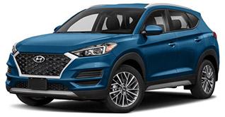 2020 Hyundai Tucson SEL Evans Auto Borkerage September Lease Special