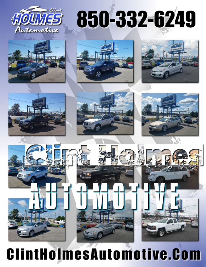 Quality Pre Owned Cars at Clint Holmes Automotive in Pensacola