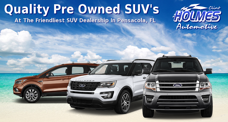 pre owned suv 39 s for sale in pensacola clint holmes automotive. Black Bedroom Furniture Sets. Home Design Ideas