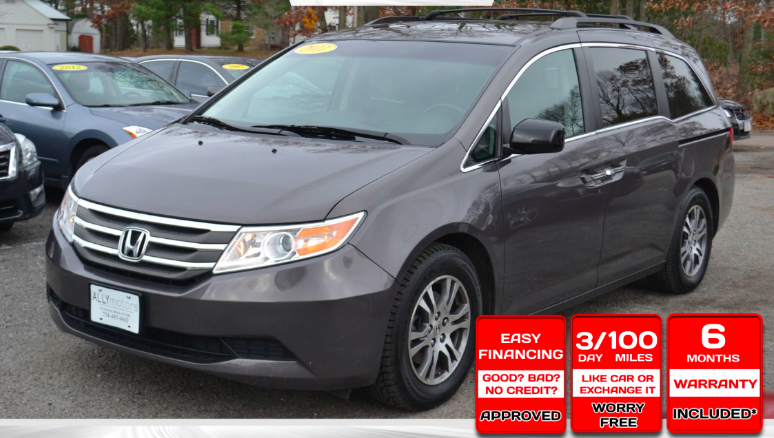 Just picked up a 2011 Honda Odyssy from Max…