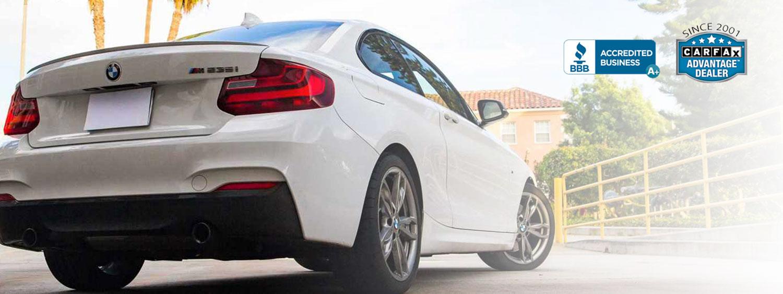 Slider image of BMW car