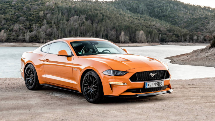 2021 Ford Mustang GT Sports Car
