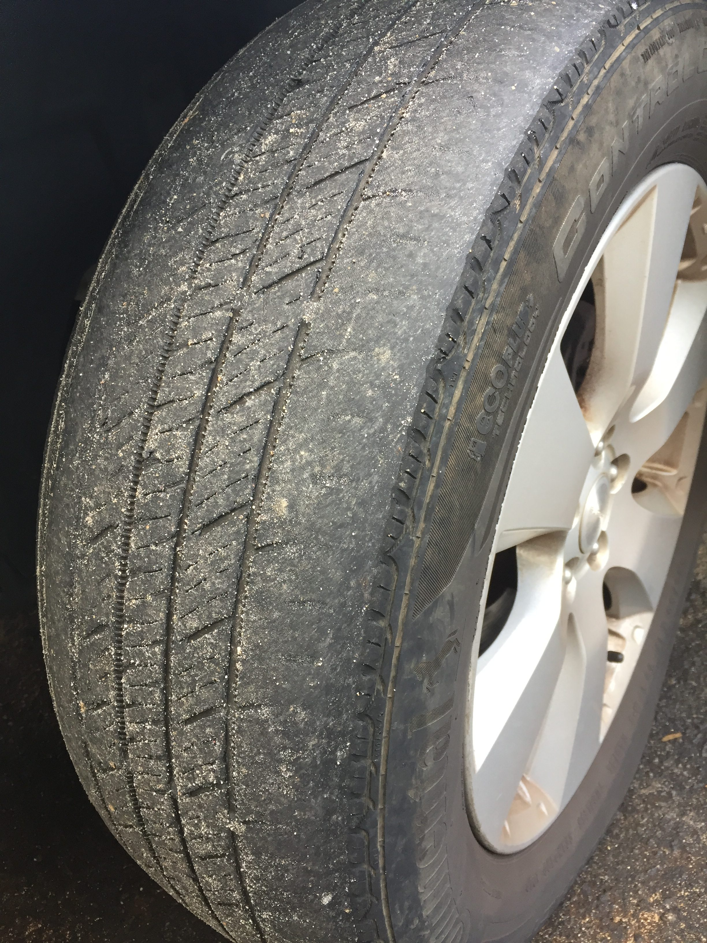 Diagnosing Tire Wear