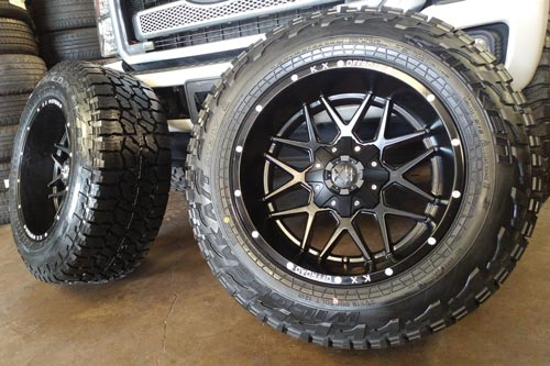 Off-Road Tires & Wheels Package