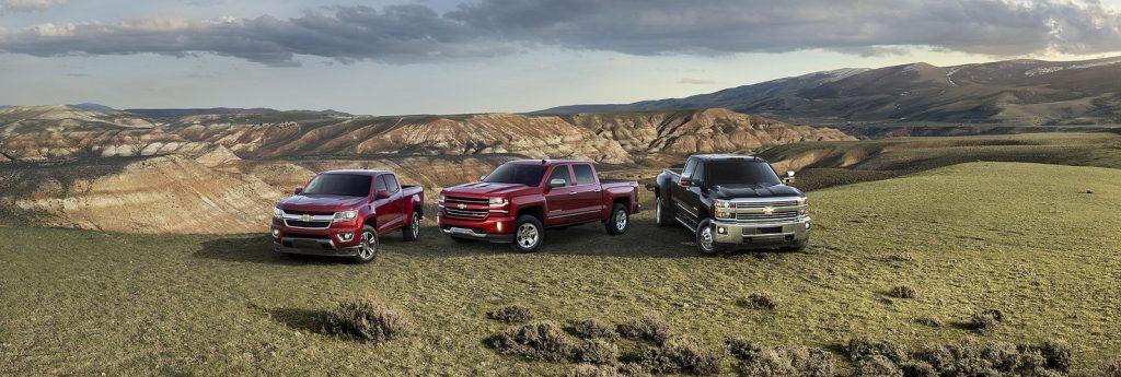2017 Chevrolet Trucks near Jamestown, NY