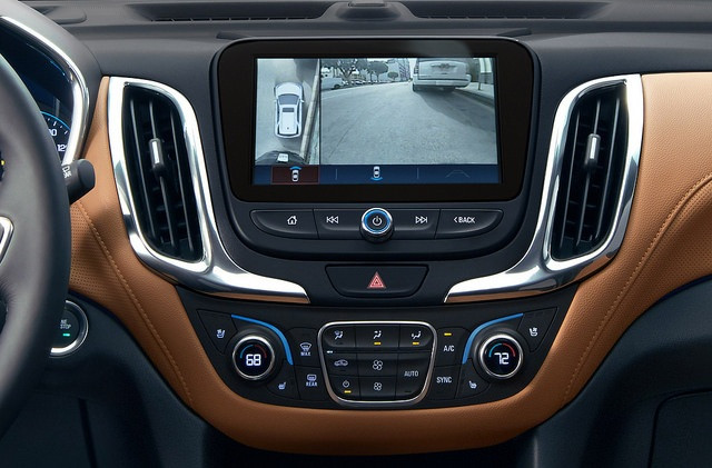 2018 Chevy Equinox Interior