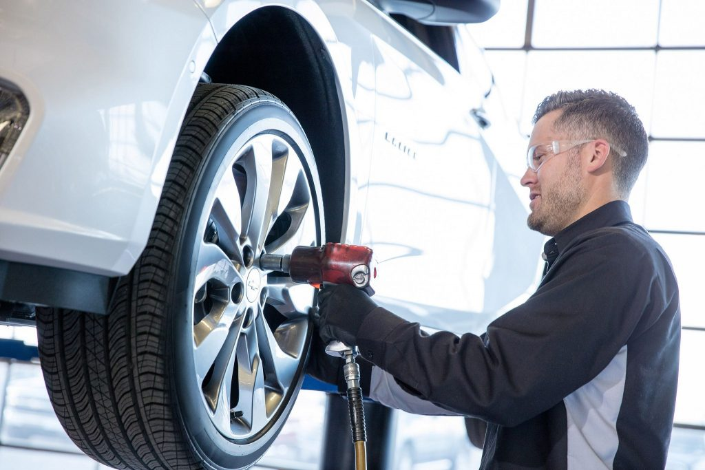 Tire Service At Landmark Chevy