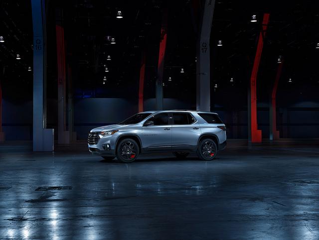 2018 Chevrolet Traverse Redline Premier
