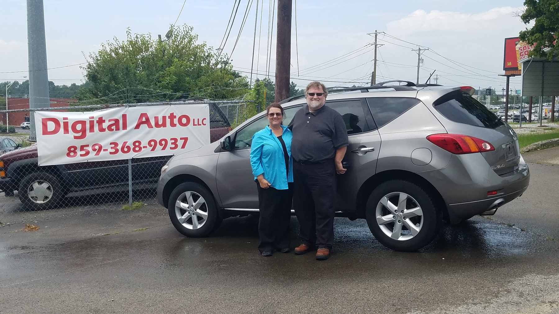 Melissa & William Clemons – Lexington KY – 2010 Nissan Murano