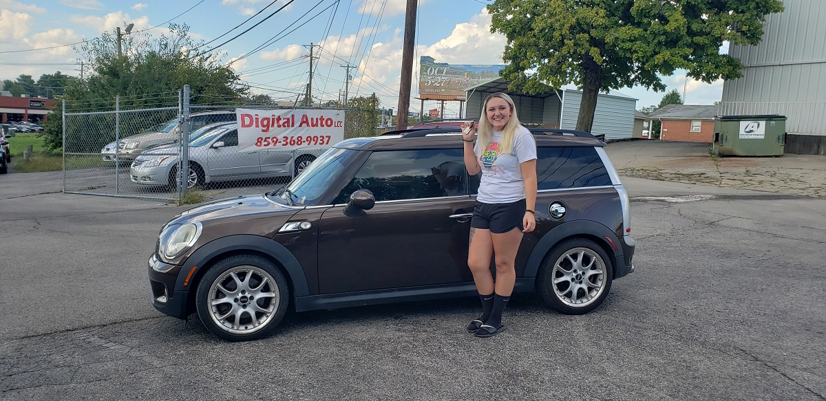 Sarah Wilson – Williamstown KY – Mini Cooper