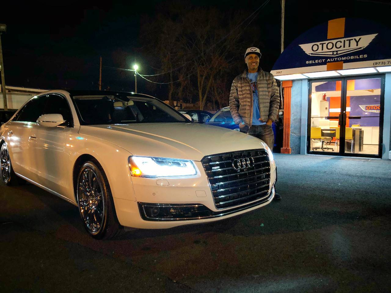 Congratulations On Your New Audi A8L