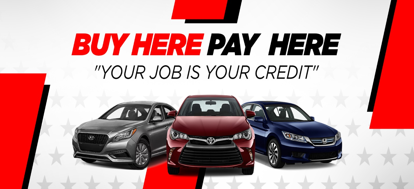 Buy Here and Pay Here Financing Process