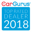 CarGurus Top Rate Dealer Badge 2018