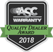 ASC Quality Dealer Award Badge