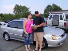 Jarod and Shanna Kanmore – 2003 Subaru Legacy